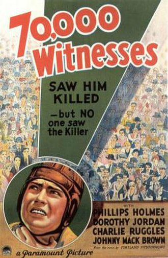 70,000 Witnesses - Theatrical release poster