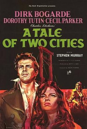 A Tale of Two Cities (1958 film) - Original UK cinema poster