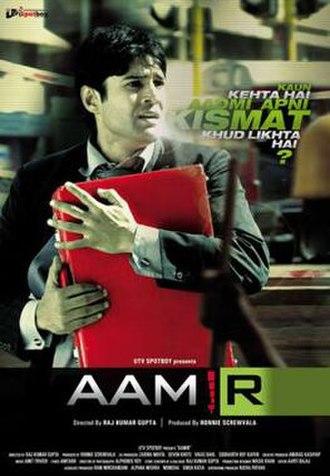 Aamir (film) - Promotional poster for Aamir