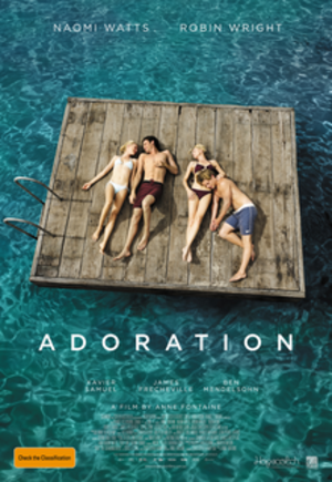 Adoration (2013 film) - Australian release poster