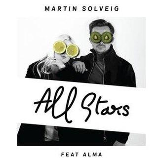 All Stars (song) - Image: All Stars Martin Solveig