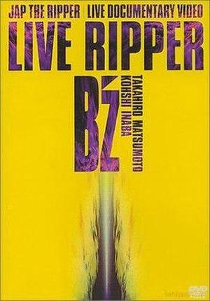 Live Ripper - Image: B'z LR