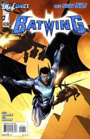 Batwing (DC Comics) - Image: Batwing 01