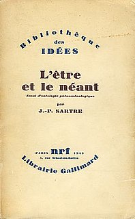 book by Jean-Paul Sartre