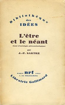 Being and Nothingness (French first edition).JPG
