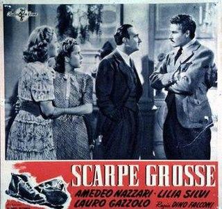 <i>Big Shoes</i> 1940 film by Dino Falconi