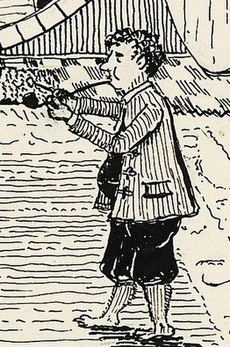 Bilbo Baggins - J. R. R. Tolkien's illustration of Bilbo Baggins.