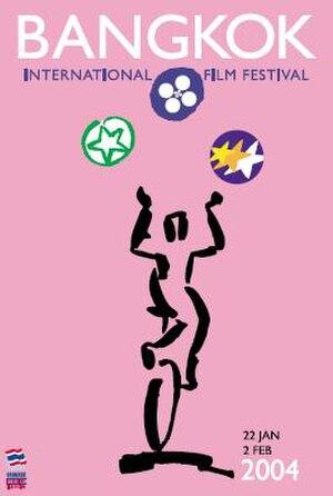 2004 Bangkok International Film Festival - Official poster for the 2004 Bangkok International Film Festival
