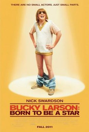 Bucky Larson: Born to Be a Star - Theatrical release poster