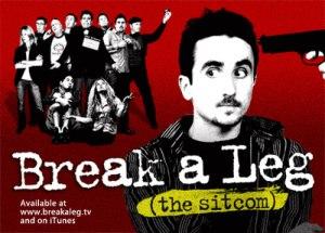Break a Leg (sitcom) - Film poster