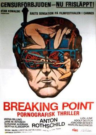 Breaking Point (1975 film) - Film poster