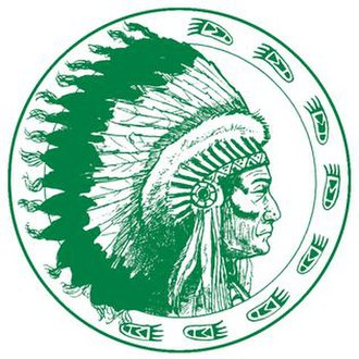Brentwood High School (New York) - Image: Brentwood Indian Logo Hi