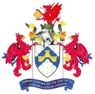 Caerphilly County Borough - Arms of Caerphilly County Borough Council