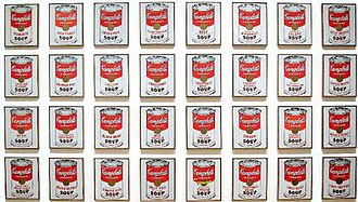 Campbell's Soup Cans - Image: Campbells Soup Cans MOMA