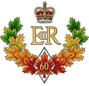 Diamond Jubilee of Queen Elizabeth II - The official emblem of the Queen of Canada's Diamond Jubilee