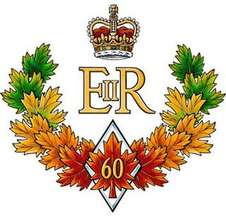 Diamond Jubilee of Elizabeth II - The official emblem of the Queen of Canada's Diamond Jubilee