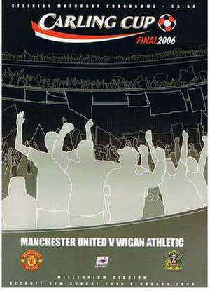 2006 Football League Cup Final - Image: Carling Cup 2006