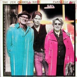 Catholic Boy (The Jim Carroll Band album - cover art)
