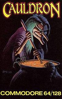 <i>Cauldron</i> (video game) 1985 video game