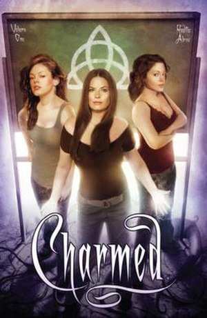 Charmed: Season 9 - Trade paperback cover of Charmed Volume 1 published by Zenescope Entertainment