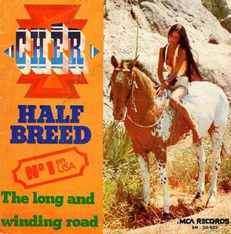 Half-Breed (song) - Image: Cher half SPANISH cover