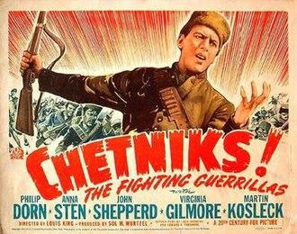 Chetniks! The Fighting Guerrillas - Lobby card