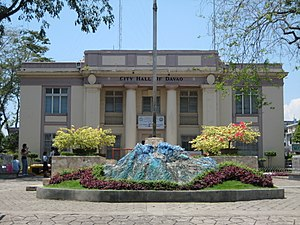 This is the City Hall of Davao - the Seat of G...