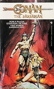 <i>Conan the Barbarian</i> (1982 novel) novel by L. Sprague de Camp