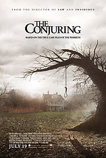 <i>The Conjuring</i> 2013 American supernatural horror film