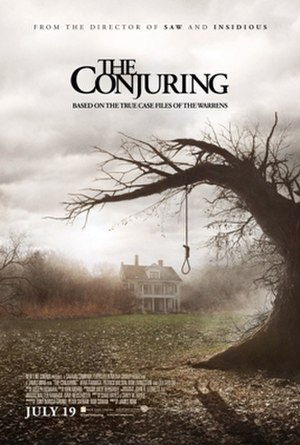 The Conjuring - Theatrical release poster