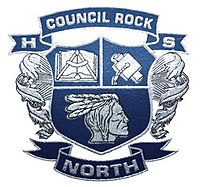 Council Rock High School North school crest, June 2011.jpg