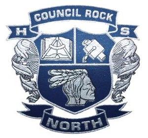 Council Rock High School North - Image: Council Rock High School North school crest, June 2011