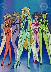 The DD Girls, who target the Sailor Senshi in Episode 45.