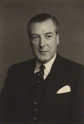 David Eccles, 1st Viscount Eccles - 1953 photograph of Eccles by Stoneman.