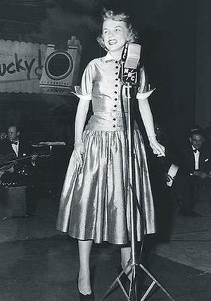 Your Hit Parade - Doris Day co-starred with Frank Sinatra on Your Hit Parade in 1947.