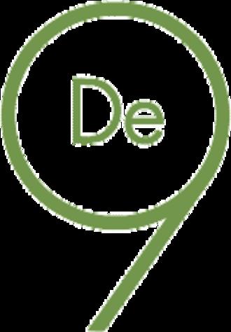 Samfundet De Nio - De Nio logotype