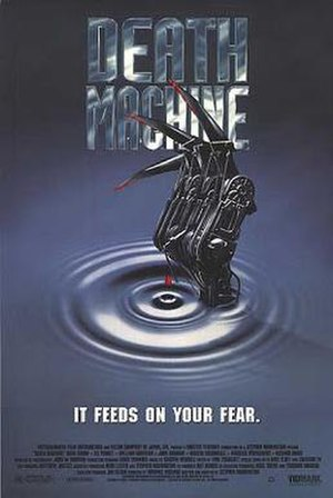 Death Machine - Theatrical release poster