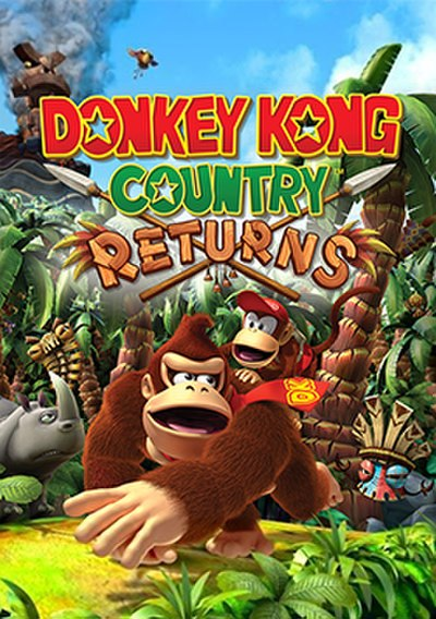 Picture of a game: Donkey Kong Country Returns