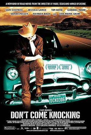 Don't Come Knocking - U.S. theatrical poster