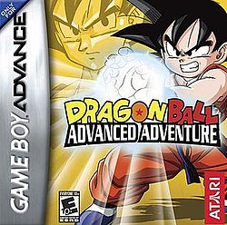 Image result for Dragon Ball Advance