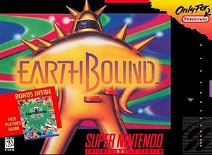 EarthBound - North American box art
