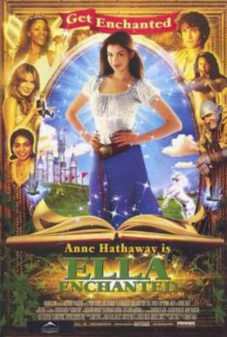 Ella Enchanted (film) - Theatrical release poster