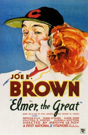 Elmer, the Great - Theatrical release poster
