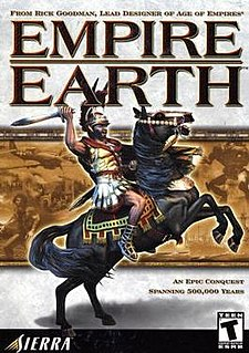 <i>Empire Earth</i> (video game) 2001 video game