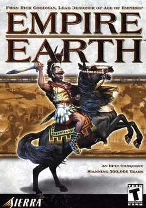 Empire Earth - Empire Earth PC box cover