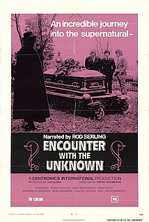 <i>Encounter with the Unknown</i> 1973 film by Harry Thomason