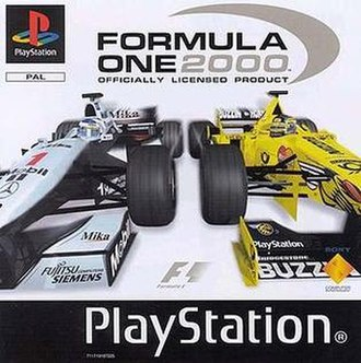 Formula One 2000 (video game) - Cover art