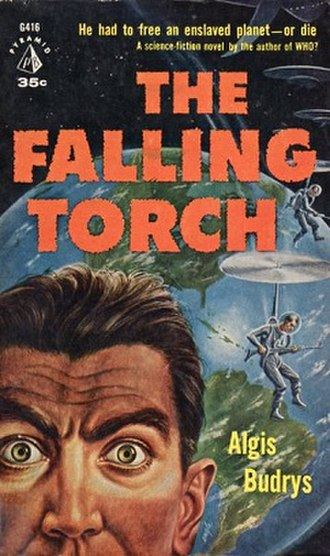 The Falling Torch - First edition cover