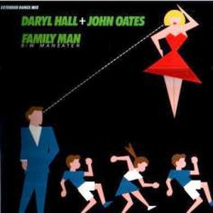 Family Man (Mike Oldfield song) - Image: Family Man Hall and Oates