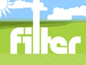 Filter (TV series) - Filter's logo, after the 2005 revamp.